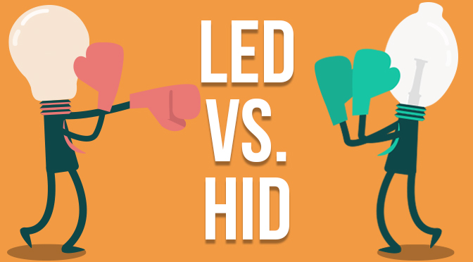 HID VS LED Headlight Bulbs | Mystery Solved: Which One is