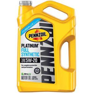 Pennzoil 550046122 Platinum 5 quart 5W-20