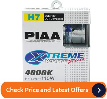 PIAA 17655 H7 Xtreme White Plus