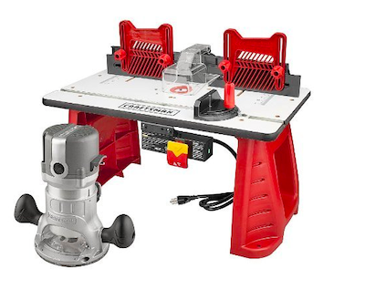 Craftsman Router And Router Table Combo